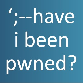 Logo reads 'Have I been pwned'