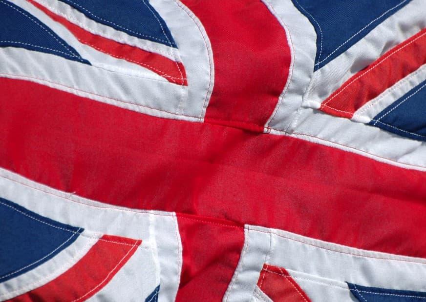 The U.K. national flag