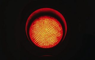 Red signal in the dark